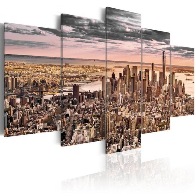 Obraz - Nowy Jork: Poranne niebo