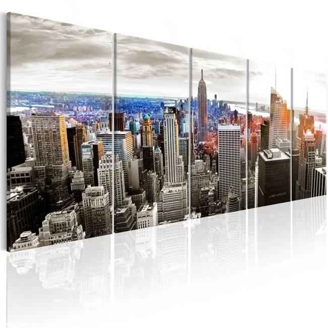 Obraz - Nowy Jork: Szare wieżowce