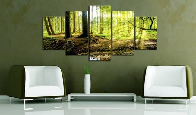 Obraz - Poezja lasu