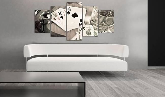 Obraz - Pokerowa noc