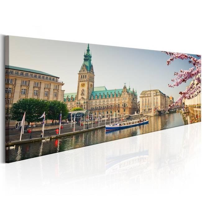 Obraz - Ratusz w Hamburgu