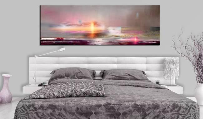 Obraz - Różowa plaża