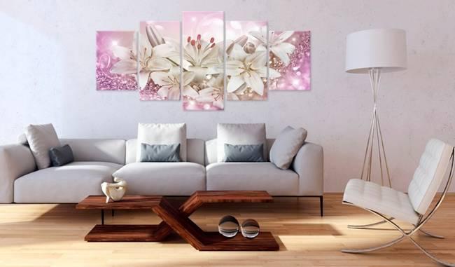 Obraz - Różowe zaloty