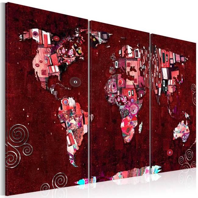 Obraz - Rubinowy świat
