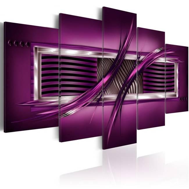Obraz - Rytm purpury