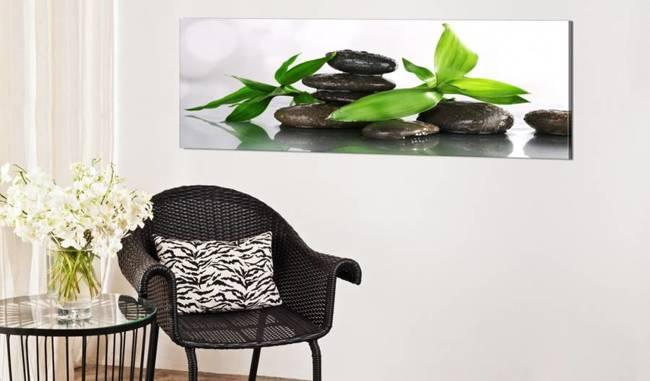 Obraz - SPA: bambus i kamienie