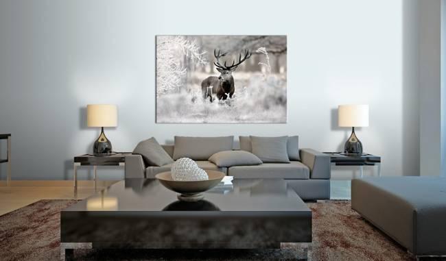 Obraz - Samotny jeleń