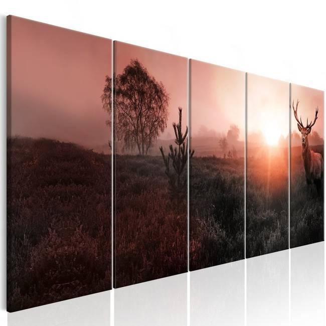 Obraz - Słońce na horyzoncie I
