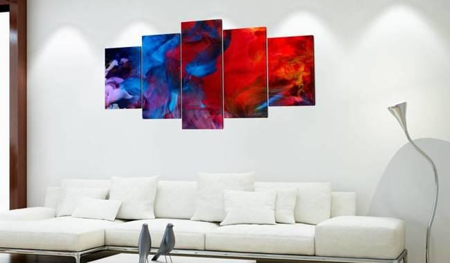 Obraz - Taniec kolorowych płomieni
