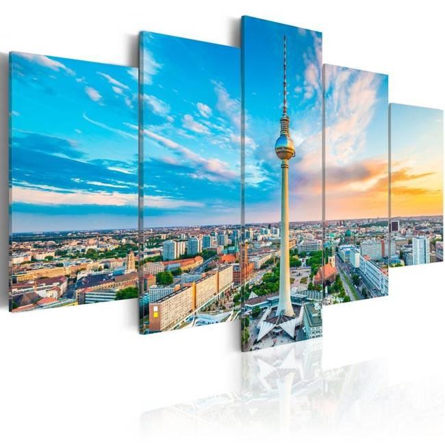 Obraz - Wieża telewizyjna w Berlinie