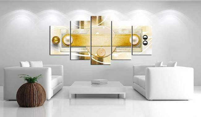 Obraz - Złota oziebłość