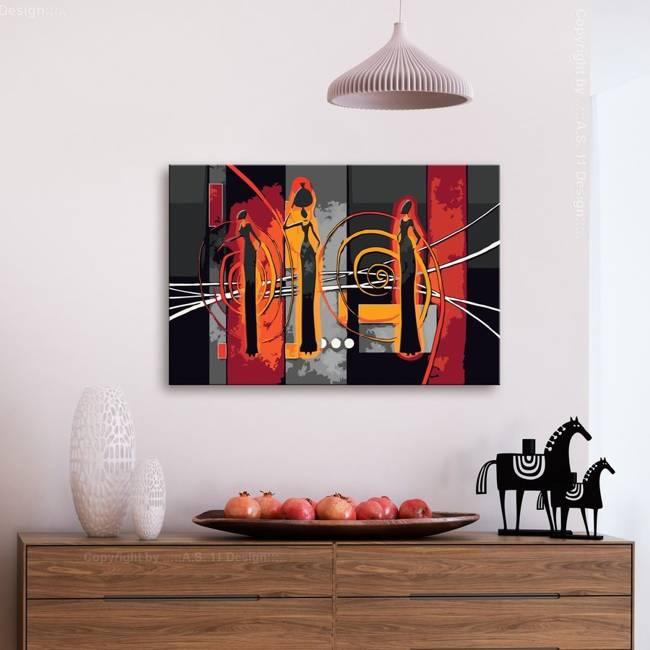 Obraz do samodzielnego malowania - Afrykanki