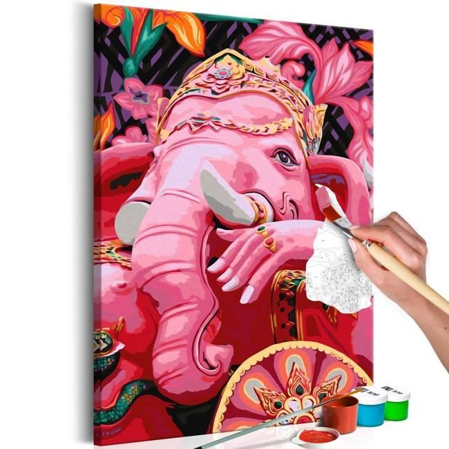 Obraz do samodzielnego malowania - Ganesha