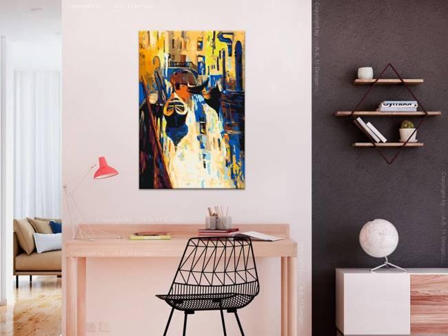 Obraz do samodzielnego malowania - Wenecja (gondole)