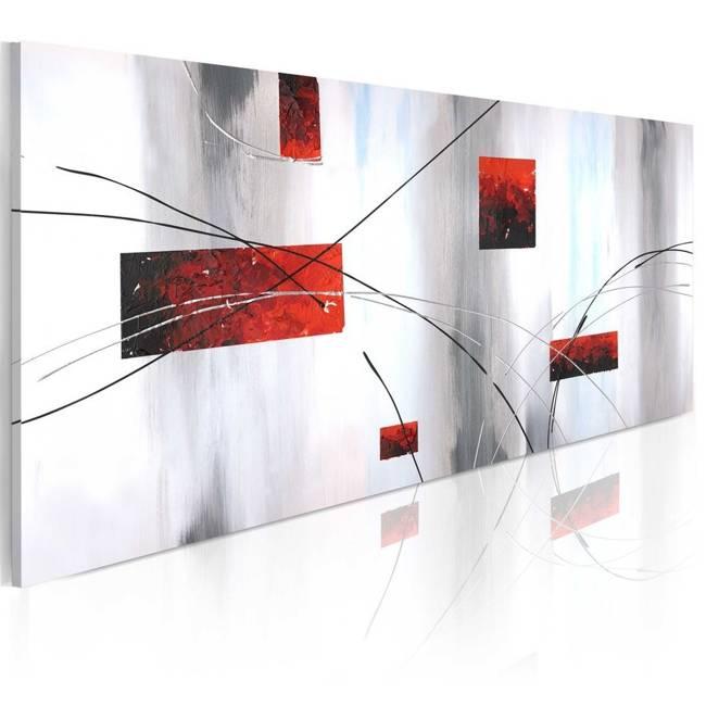 Obraz malowany - Geometryczna manifestacja