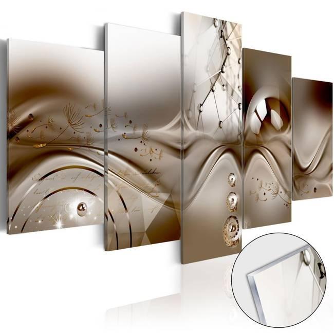 Obraz na szkle akrylowym - Artystyczna dysharmonia [Glass]