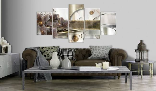Obraz na szkle akrylowym - Ogród kosmosu [Glass]