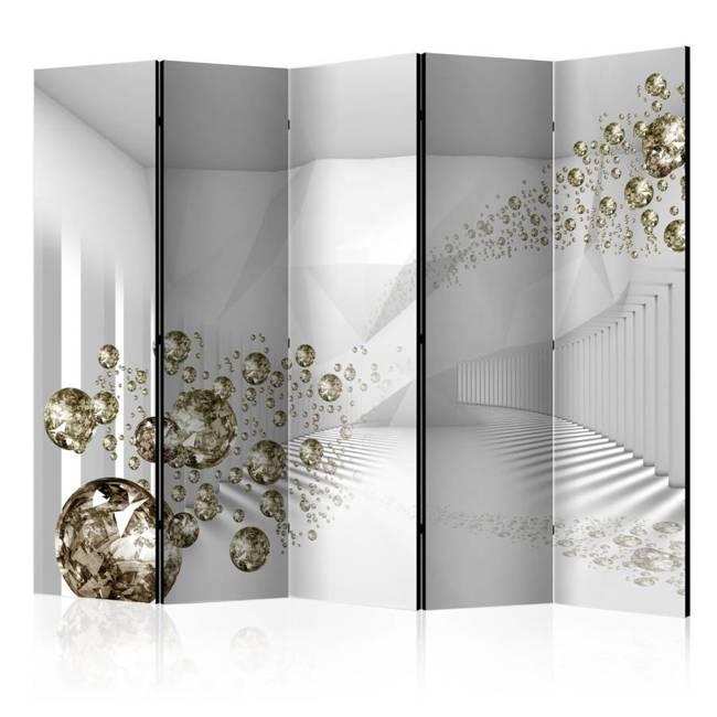 Parawan 5-częściowy - Diamentowy korytarz II [Room Dividers]