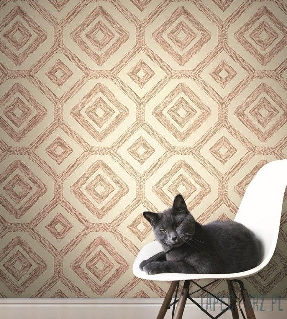 Tapeta ścienna York Wallcoverings MS6460 Modern Shapes