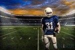 Fototapeta Boisko - futbol amerykański 1113