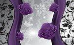 Fototapeta Fioletowe róże 1240