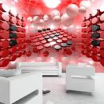 Fototapeta - Gra w czerwone i czarne