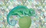 Fototapeta Kameleon 11144