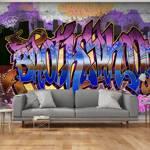 Fototapeta - Kolorowy mural