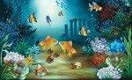Fototapeta Ocean, ryby, koralowce 854