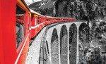Fototapeta Podróż przez wiadukt kolejowy 1344
