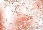 Fototapeta Prosty klasyczny wzór kwiatowy 557