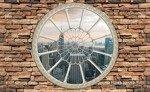 Fototapeta Widok przez okno na wieżowce Nowego Jorku 2094