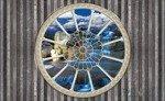 Fototapeta Widok przez okno na wodospad 2095