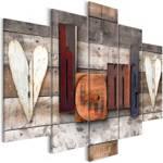 Obraz - Czarodziejski domek (5-częściowy) szeroki