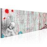 Obraz - Home: House + Love