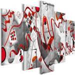 Obraz - Między falami (5-częściowy) szeroki