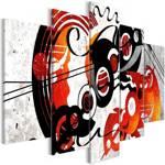 Obraz - Muzyczne kreacje (5-częściowy) szeroki