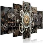 Obraz - Stary mechanizm (5-częściowy) szeroki
