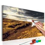 Obraz do samodzielnego malowania - Dzika plaża
