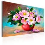 Obraz malowany - Wiosenna wiązanka