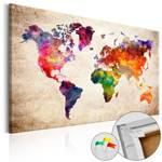 Obraz na korku - Kolorowe uniwersum  [Mapa korkowa]