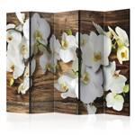 Parawan 5-częściowy - Leśna orchidea II [Room Dividers]